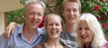 Dr. Karin Weber-Klatt und Familie